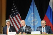 Nga, Mỹ, LHQ họp ba bên về Syria