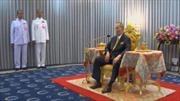 Vua Thái Lan xuất hiện sau nhiều tháng dưỡng bệnh