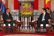 Lãnh đạo Đảng, Nhà nước tiếp Chủ tịch Thượng viện Campuchia