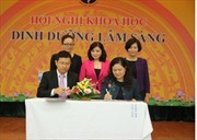 Vinamilk ký kết hợp tác chiến lược với Viện Dinh dưỡng quốc gia