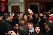 Ông Assad bất ngờ thăm nhà thờ ở Damascus trước Giáng sinh