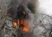 Nổ khí gas tại tòa nhà chung cư ở Nga