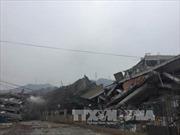 Số người mất tích trong vụ lở đất ở Trung Quốc giảm