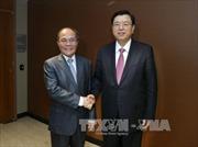 Thúc đẩy quan hệ Việt-Trung phát triển ổn định, lành mạnh và bền vững
