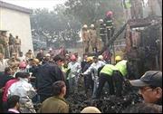 Máy bay Ấn Độ rơi, 10 người thiệt mạng