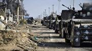 """IS """"vãi đạn"""" vào trực thăng chở Thủ tướng Iraq thị sát Ramadi"""