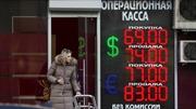 Đồng ruble Nga mất giá mạnh nhất trong hơn một năm qua