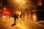 Chợ Phủ Lý - Hà Nam cháy dữ dội trong đêm