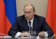 Tổng thống Putin coi Mỹ là mối đe dọa an ninh quốc gia mới