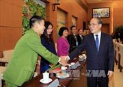 Chủ tịch Quốc hội gặp mặt Hội thầy thuốc trẻ Việt Nam