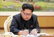 """Ông Kim Jong Un: Vụ thử hạt nhân là """"biện pháp tự vệ"""" của Triều Tiên"""