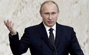 Tổng thống Putin: Một số thế lực lợi dụng khủng bố để chống phá Nga