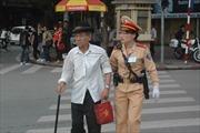 CSGT Hà Nội tăng cường đảm bảo giao thông ngay từ đầu năm mới