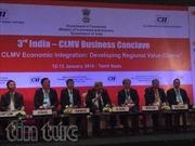Việt Nam tham dự Hội nghị hợp tác Ấn Độ - CLMV lần 3