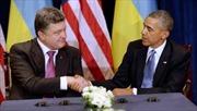 Tổng thống Ukraine muốn Mỹ, EU giúp giành lại Crimea