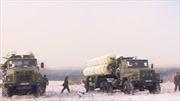 """Đoàn xe S-300 của Nga bị """"phục kích"""""""