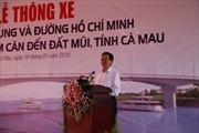 Thông xe cầu Hòa Trung và đường Hồ Chí Minh đoạn Năm Căn-Đất Mũi