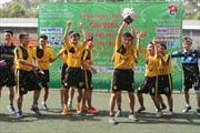 Học viện Công nghệ BCVT vô địch giải bóng đá Đoàn Khối khu vực phía Nam