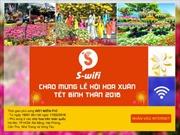 S-wifi cấp internet miễn phí tại các hội hoa xuân