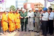 Campuchia trùng tu Đài tuởng niệm Quân tình nguyện Việt Nam