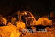 Thêm một nạn nhân tử vong trong vụ sạt mỏ đá ở Yên Định