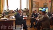Chủ tịch ĐCS LB Nga chúc mừng Đại hội Đảng XII thành công