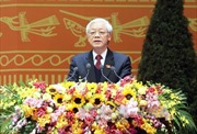 Diễn văn của Tổng Bí thư Nguyễn Phú Trọng tại lễ bế mạc Đại hội XII