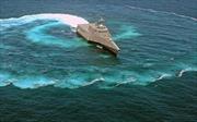Tàu chiến mới của Mỹ loay hoay khi bị tấn công