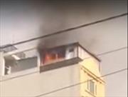 Cháy khách sạn giữa trung tâm Thành phố Hồ Chí Minh