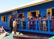 Khánh thành trường học trên Biển Hồ cho Việt kiều tại Campuchia
