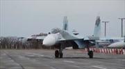 Xem Su-27 của Nga trổ tài trên bầu trời Crimea