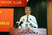 Công bố Quyết định của Bộ Chính trị về nhân sự Ban Tuyên giáo Trung ương
