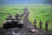 Dũng mãnh dàn xe tăng T-90