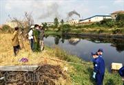 Phát hiện thi thể phân hủy trên kênh Tham Lương
