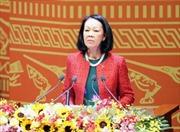 Bà Trương Thị Mai nhận nhiệm vụ Trưởng ban Dân vận Trung ương
