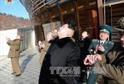 Nhà lãnh đạo Triều Tiên thị sát diễn tập không quân