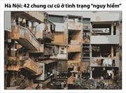 Hà Nội: 42 chung cư cũ ở tình trạng nguy hiểm