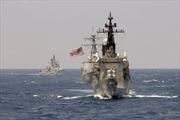 Mỹ, Ấn Độ, Nhật Bản tập trận chung ngoài khơi Philippines
