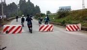 Người dân phản đối đặt ụ nổi trên cầu Việt Trì cũ