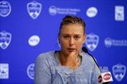 Búp bê quần vợt Nga Sharapova thừa nhận sử dụng doping