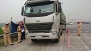 Xử lý dứt điểm xe quá tải trên quốc lộ tại Hà Nội – Hòa Bình