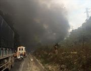 Va chạm giữa xe bồn và xe khách ở Mai Châu, 2 người thiệt mạng