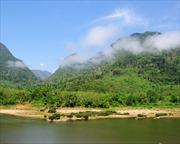 Mực nước sông Mekong tại Lào đang tăng dần