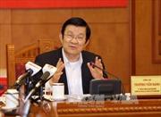 Chủ tịch nước thăm Đại học Kinh doanh và Công nghệ Hà Nội