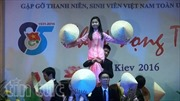 """""""Khát vọng trẻ"""" của thanh niên, sinh viên Việt Nam ở Ukraine"""
