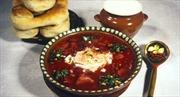 Súp củ cải đỏ thành món xa xỉ với người Ukraine