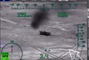 Video chiến đấu cơ Nga dội bom thành cổ Palmyra