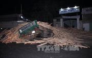 Xe tải đấu đầu, hai người tử vong tại Bình Phước
