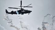 """Video trực thăng """"Cá sấu"""" Nga tiêu diệt mục tiêu ở Syria"""