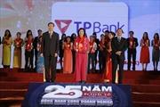 TPBank lần thứ 4 nhận giải Thương hiệu mạnh Việt Nam
